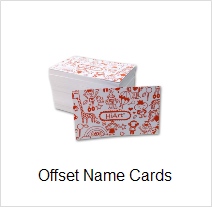 offset name card printing